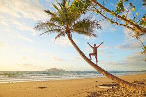 Sand, Strand, Palmen, Meer - Australien