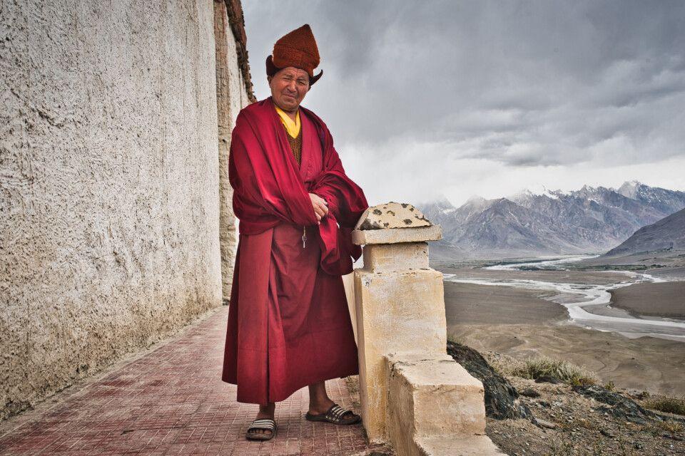 Ladakh - Buddhistischer Mönch