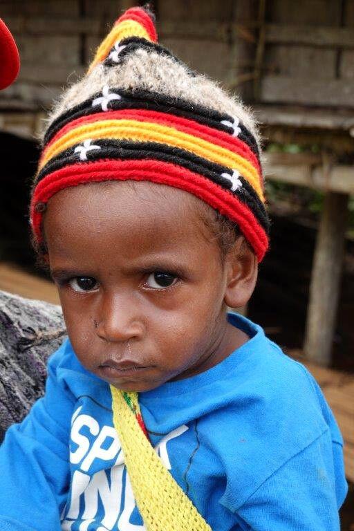 Portait in Papua