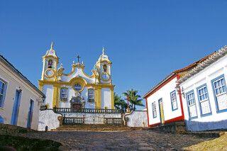 Igreja Matriz de Santo Antonio in Tiradentes