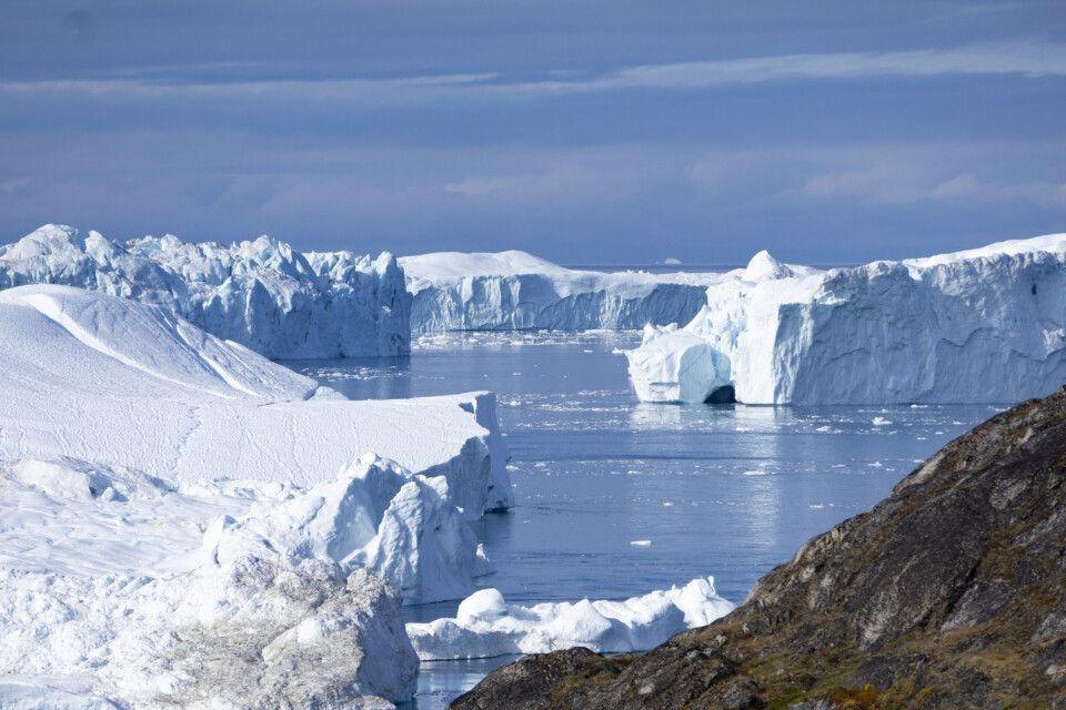 Der Eisfjord nahe Ilulissat (UNESCO)