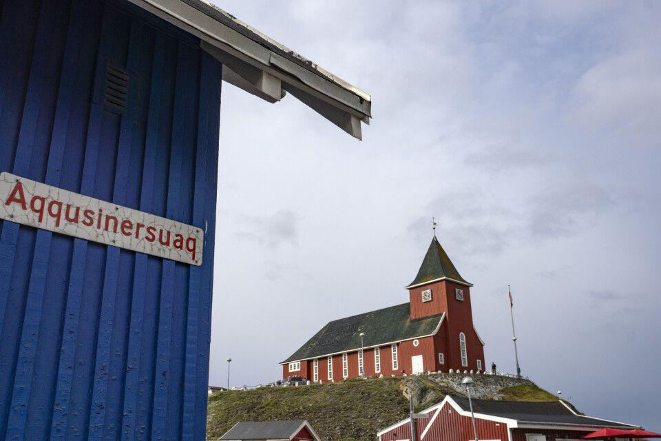 Kirche im Zentrum von Sismiut