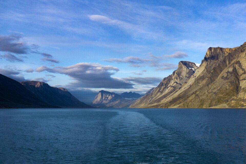 Im Søndre Strømfjord vor Kangerlussuaq