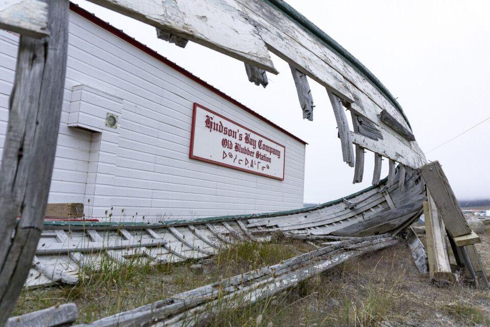 Überreste der Hudson Bay Comany in Pangnirtung