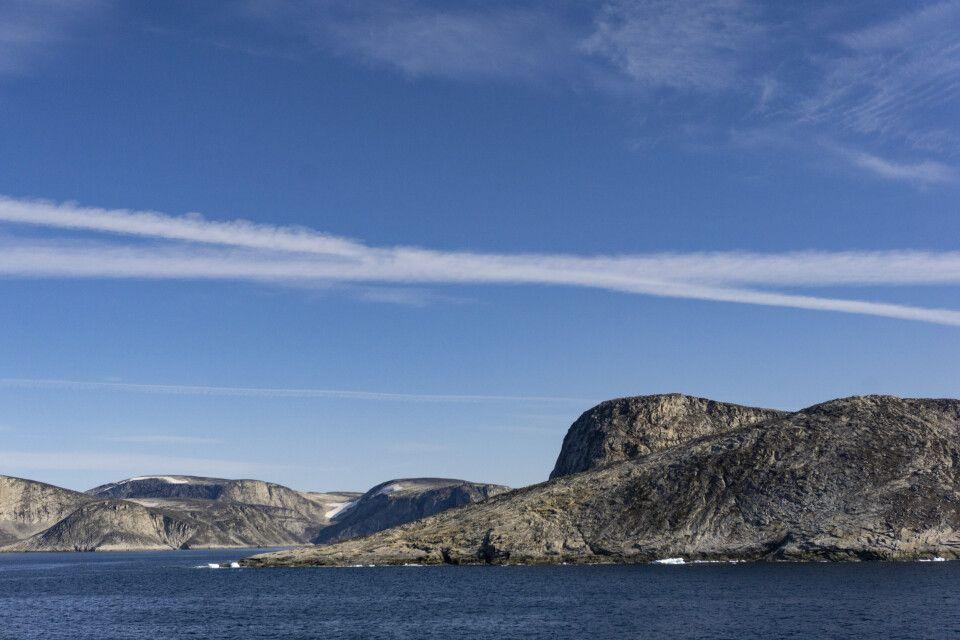 An der Küste von Baffin Island