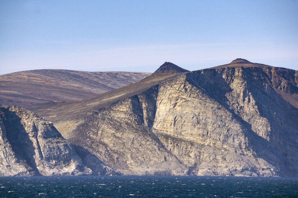 Küste von Baffin Island