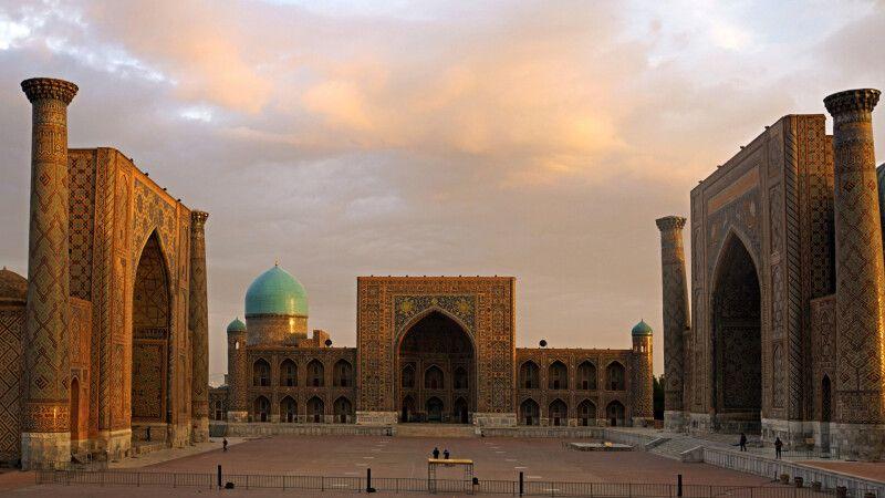 Samarkand Registan © Diamir
