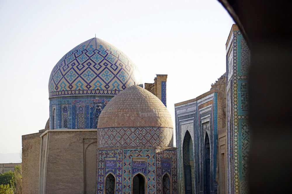 Samarkand Nekropole Totenstadt Shakhi-Zinda