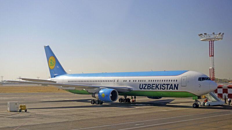 Flugzeug Uzbekistan Airways © Diamir