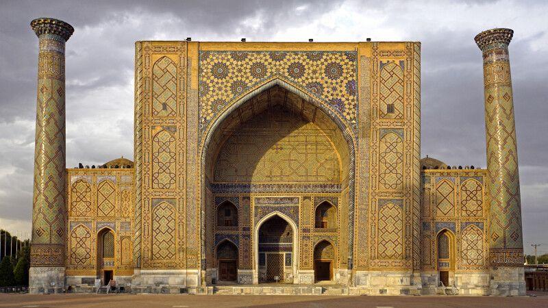 Samarkand Registan Medrese Ulugbek © Diamir