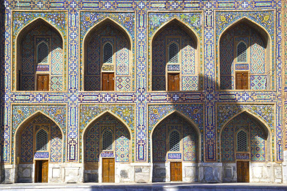 Samarkand Registan Innenhof