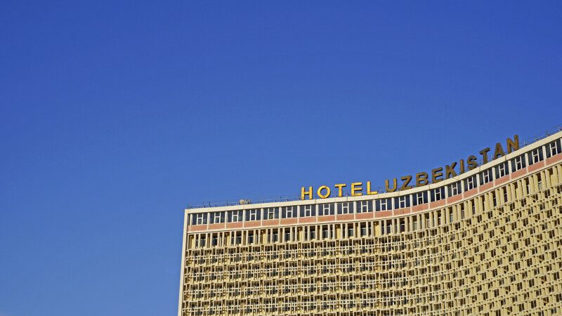 Taschkent Hotel Uzbekistan © Diamir
