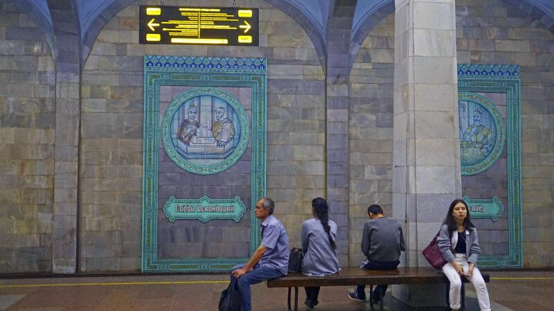 Taschkent Metro © Diamir