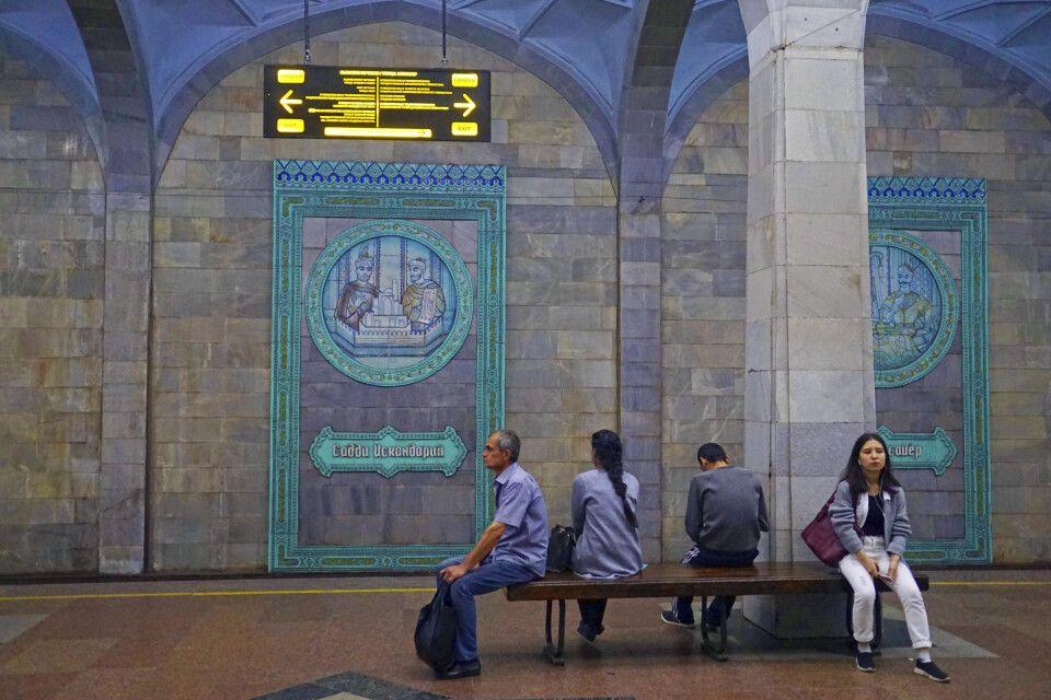 Stillleben in der Taschkenter Metro