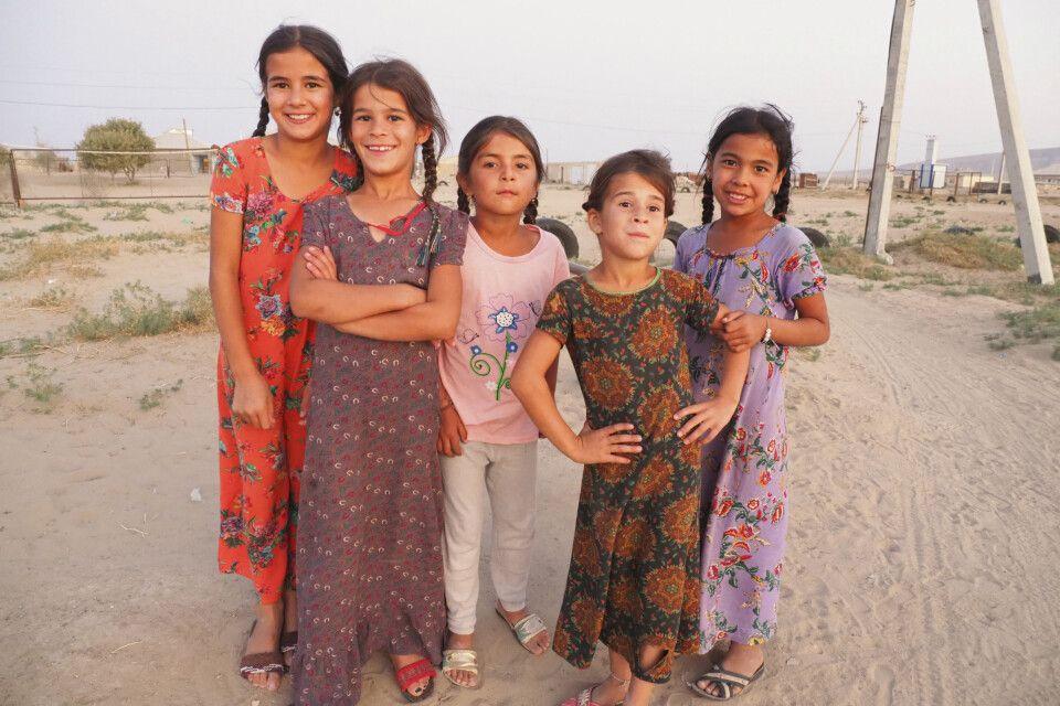 Junge Mädchen in Turkmenistan