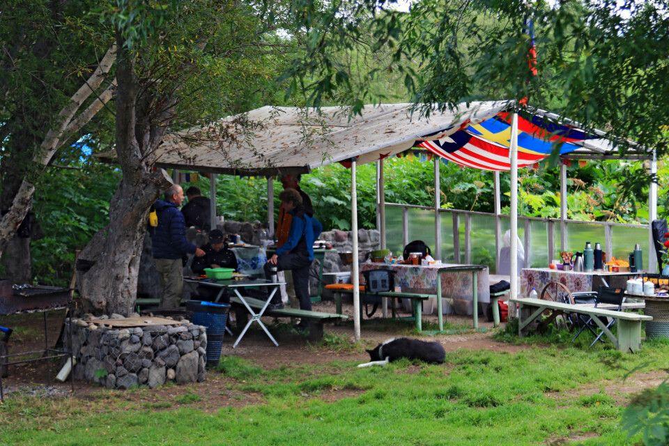 Camp in Pauschetka