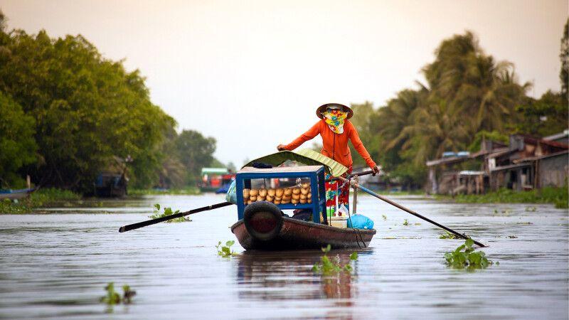 Im Mekongdelta © Diamir