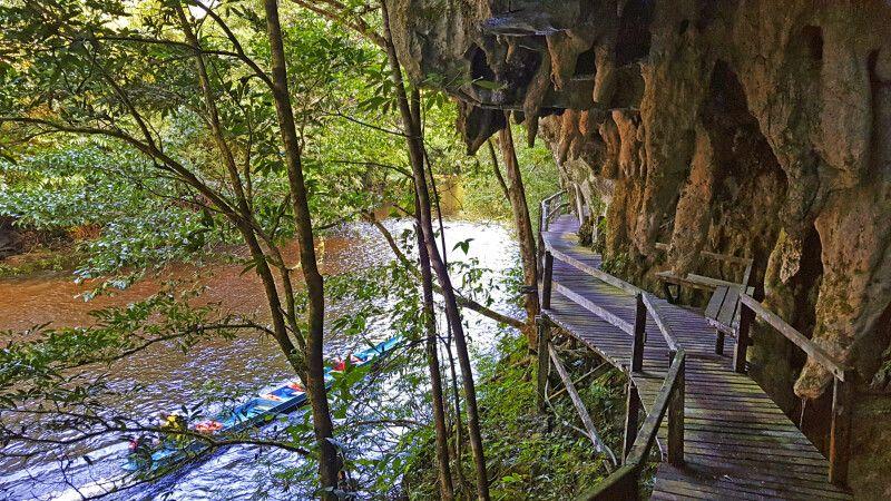 Verschlungener Weg im Mulu-Nationalpark © Diamir