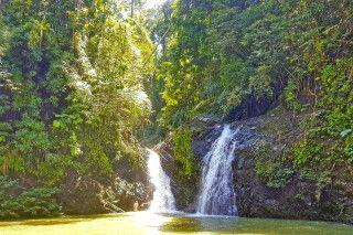 Lipad Wasserfall im Tabin Reservat