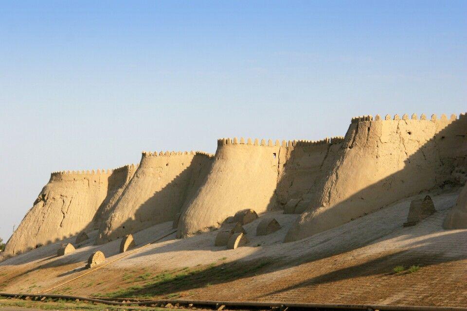 Chiwa Ichan-Kala Stadtmauer