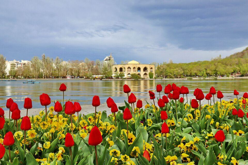 Tabriz - Stimmung im El-Goli-Park