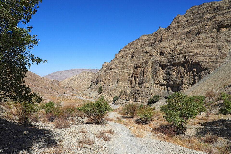Wanderung durch Chuli Canyon in den Kopedag Bergen