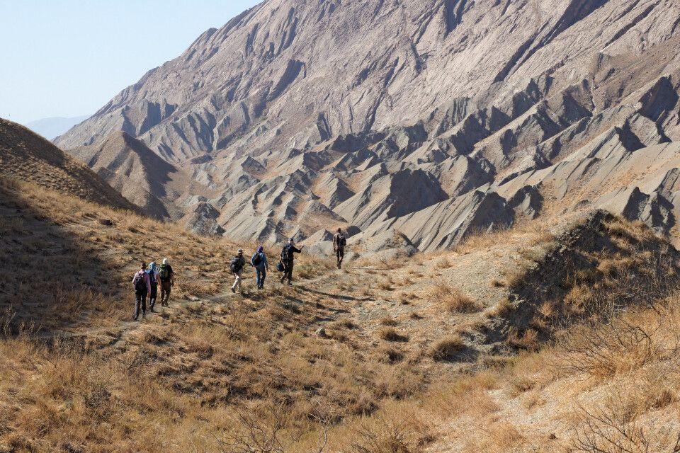 Wanderung in den Kopedag-Bergen