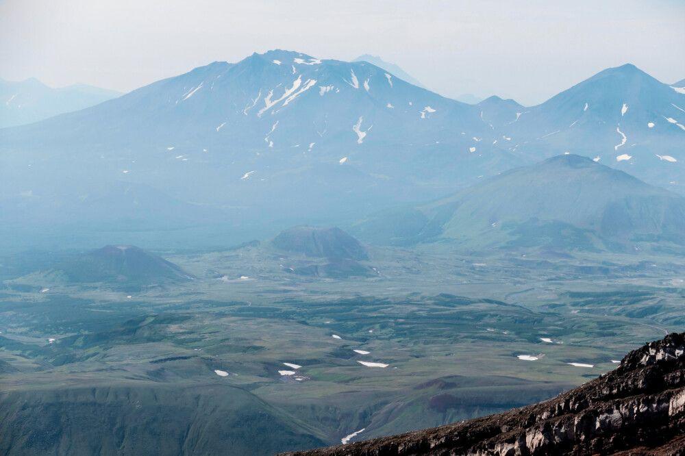 Kraterlandschaft am Gorely