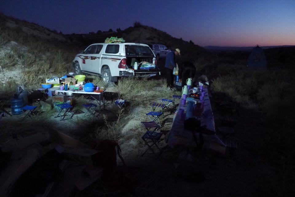 """Camping in den """"Mondbergen"""" von Torkay"""