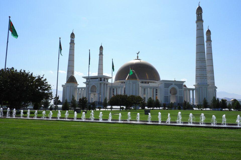 Die Turkmenbashi-Moschee in Kiptschak