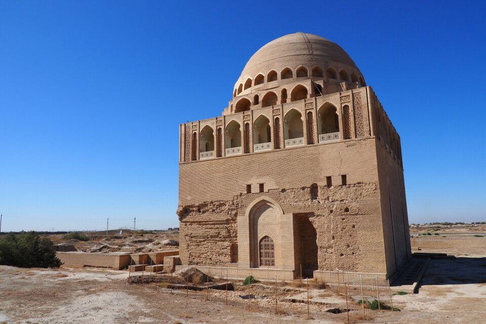 Merw - das Mausoleum von Sultan Sanjar