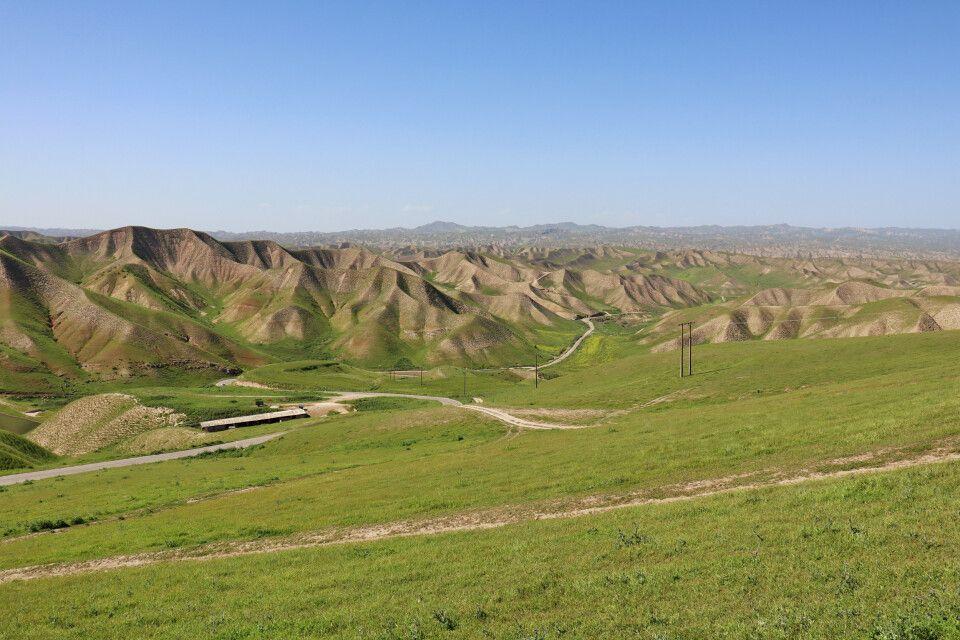 Golestan NP - die Kope-Dagh Berge