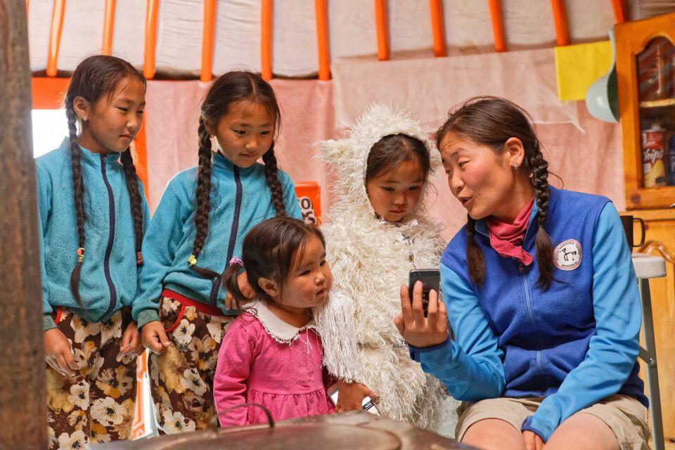 Zu Gast bei Changai-Nomaden