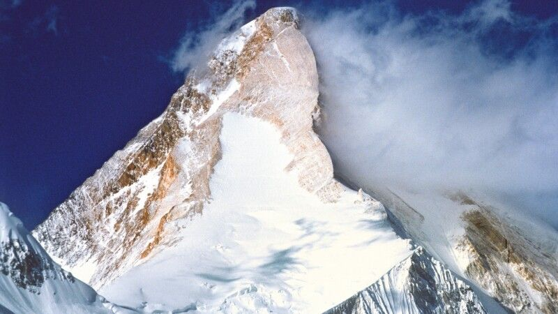 Die beeindruckende Pyramide des Khan Tengri. © Diamir