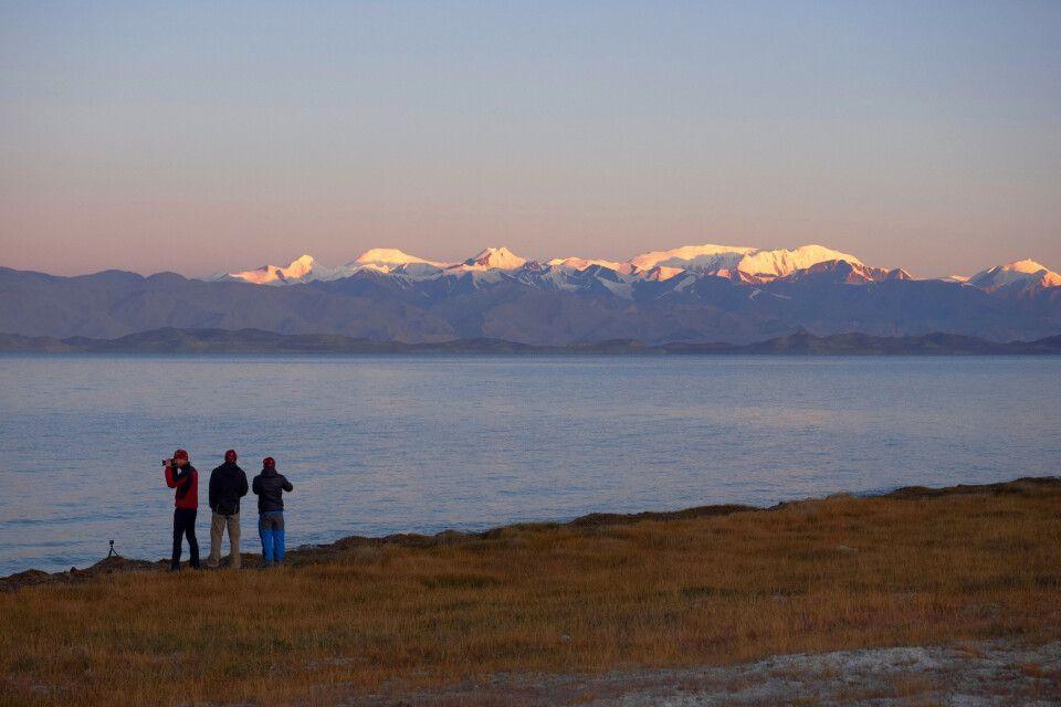 Morgenstimmung am Karakul-See