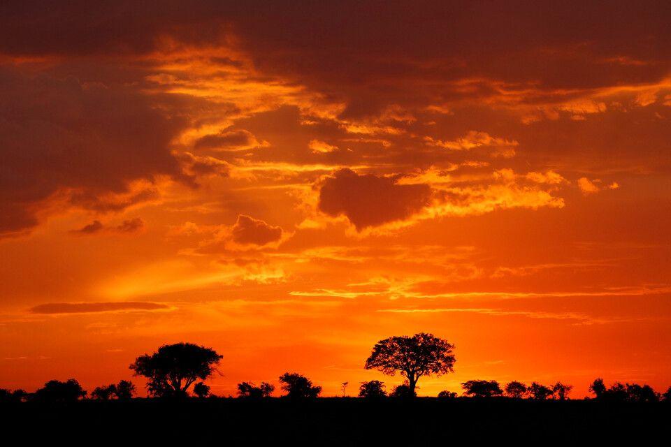 Tag 8 Roter Abendhimmel