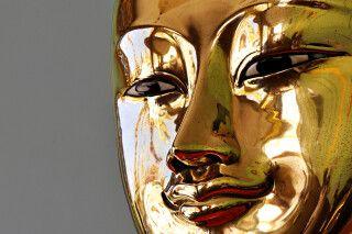 Buddhas goldenes Antlitz