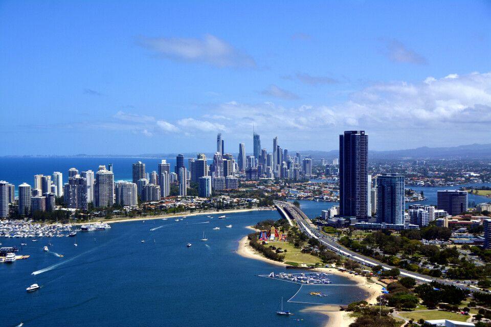 Gold Coast in Queensland