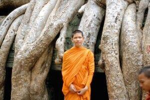 Begegnung im Dschungeltempel Tha Prohm