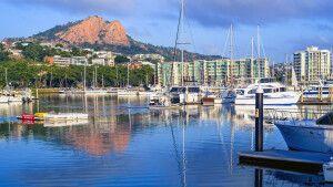 Townsville im nördlichen Queensland an der Ostküste Australiens