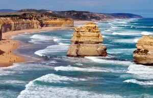 Die Zwölf Apostel im Bundesstaat Victoria an der Great Ocean Road