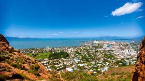 Blick vom Castle Hill auf Townsville