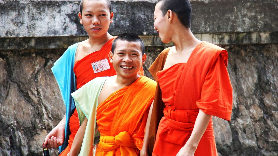 Begegnung in Luang Prabang