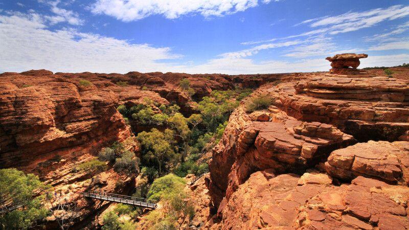 Blick in den Kings Canyon © Diamir
