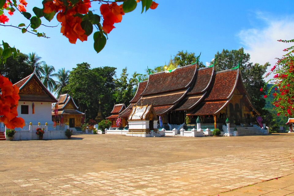 Das Kloster Wat Xieng Thong in Luang Prabang