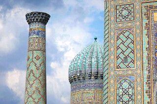 Samarkand Registan Scher Dor
