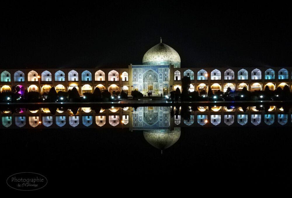 Imam-Platz am Abend