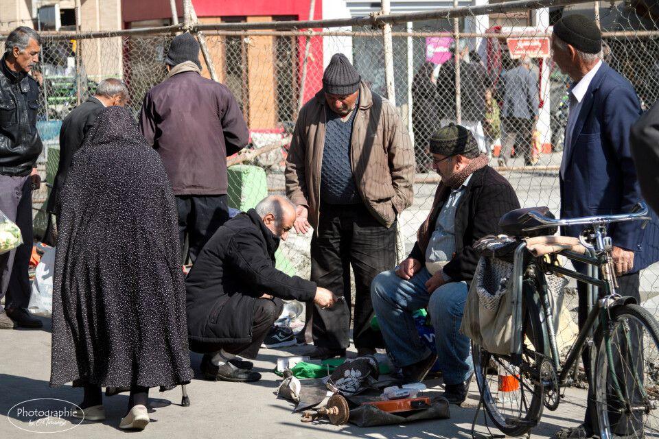 Markttreiben neben dem Imam-Platz in Isfahan