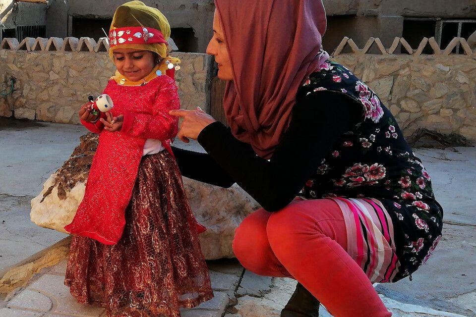 Besuch bei Bavanat-Nomaden zwischen Naqsh-e Rostam und Meymand