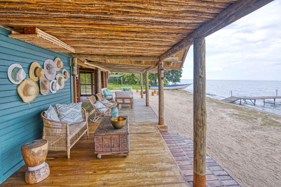 Veranda der Lounge zum See